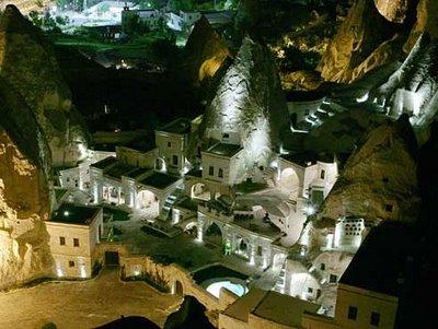 cave hotels cappadocia turquia anatolian houses