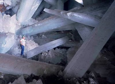cave of crystals mexico