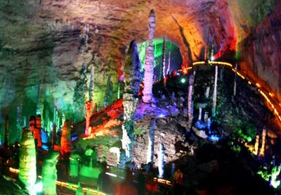 huanglong yellow dragon cave china