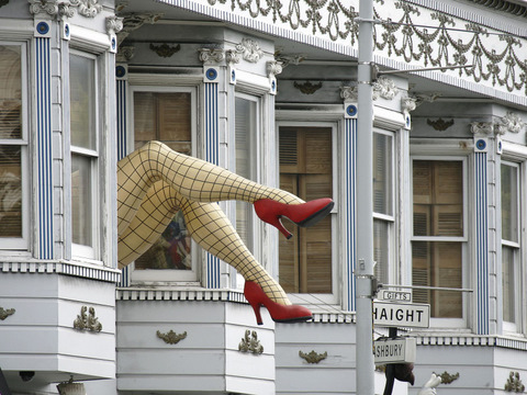 Legs, Haight-Ashbury, San Francisco, California