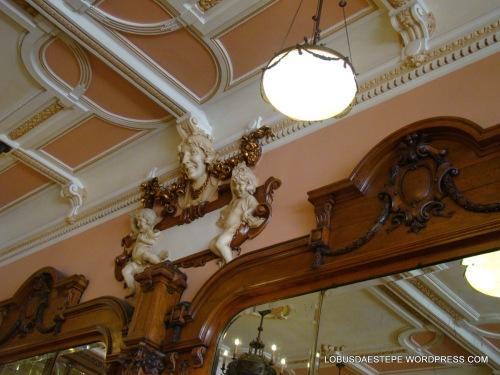 detalhe no Café Majestic