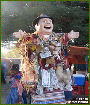 Lenda Boliviana / Peruana: Elkeko, o boneco da sorte (3/6)