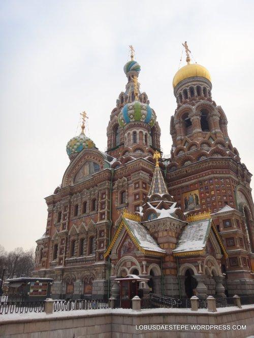 São Petersburgo  igreja sangue derramado
