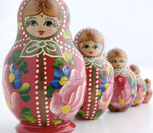 Mastrioskas, Babuskas,Kokeshi, a história das bonecas russas. (2/6)