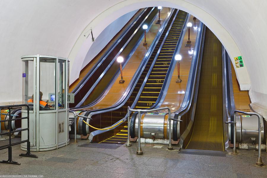 O metrô mais lindo do mundo- Moscou (2/6)