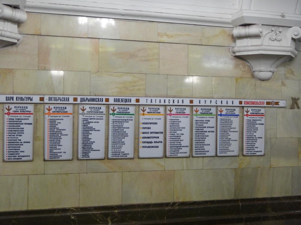 O metrô mais lindo do mundo- Moscou (4/6)