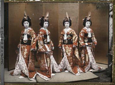 Costume de danse ou théâtre ?, Japon, 1926-1927.