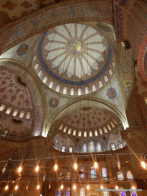 interior da igreja Santa Sophia