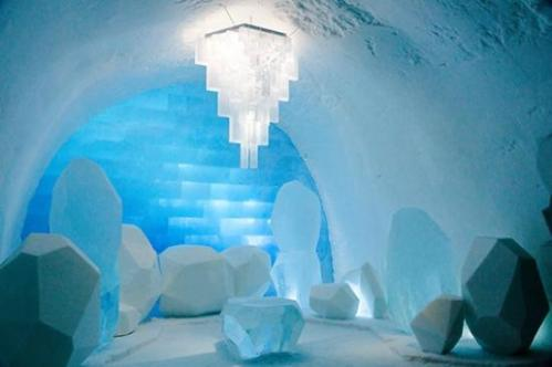 Icehotel Jukkasjarvi, Sweden