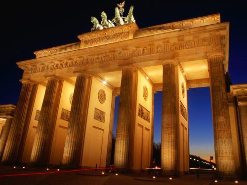Berlim   portão de brandeburgo CONSTRUIDO EM 1789-1791