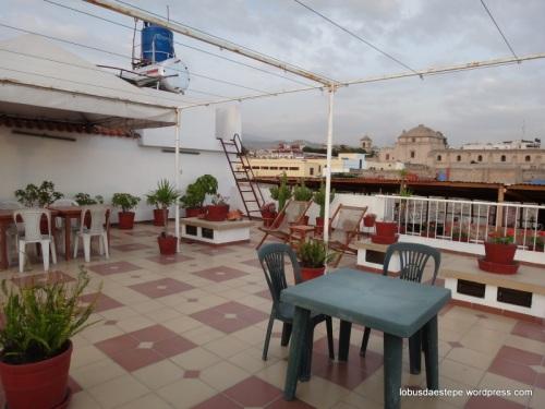 terraço - Las Torres de  Ugarte