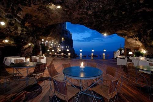 _melhores_hoteis_09Hotel Ristorante Grotta Palazzese Polignano a Mare, Itália