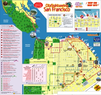 2999 San Francisco All Loops Route Map