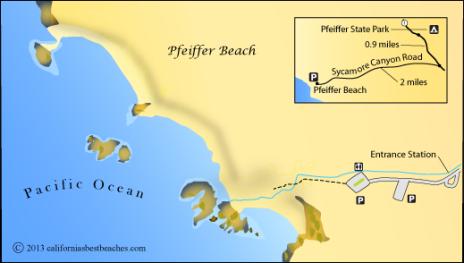 pfeiffer_beach_map